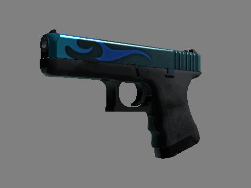 StatTrak™ Glock-18 | Bunsen Burner (Minimal Wear)