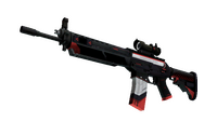 SG 553 | Cyrex (Well-Worn)