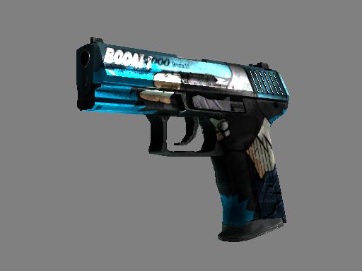 StatTrak™ P2000 | Handgun (Battle-Scarred)