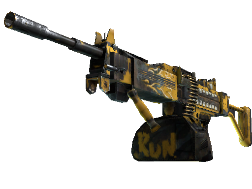 StatTrak™ Negev   Loudmouth (Field-Tested)