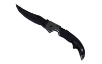 ★ Falchion Knife | Blue Steel (Battle-Scarred)
