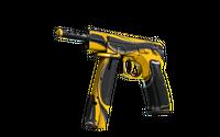 CZ75-Auto | Yellow Jacket (Well-Worn)