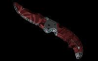 ★ StatTrak™ Falchion Knife | Slaughter (Factory New)