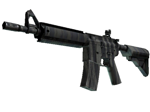 M4A4   Faded Zebra (Minimal Wear)