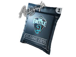 Autograph Capsule | Team eBettle | Cologne 2015