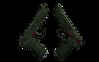 Souvenir Dual Berettas | Briar (Minimal Wear)