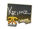 Sticker | KRIMZ | Cologne 2015