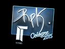 Sticker | RpK (Foil) | Cologne 2015