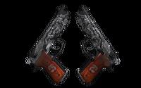 StatTrak™ Dual Berettas | Dualing Dragons (Field-Tested)