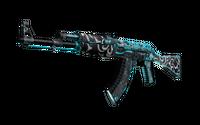 StatTrak™ AK-47   Frontside Misty (Battle-Scarred)