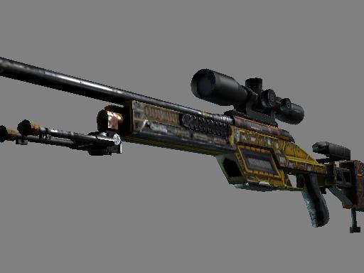 StatTrak™ SSG 08 | Big Iron (Battle-Scarred)