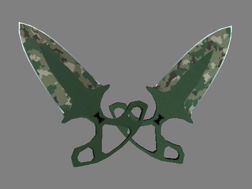 ★ Shadow Daggers | Forest DDPAT (Minimal Wear)