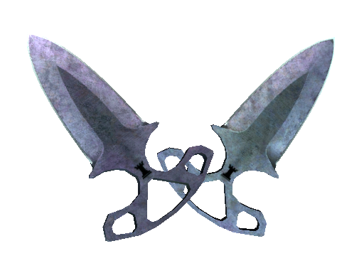 ★ Shadow Daggers | Blue Steel (Battle-Scarred)