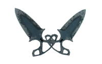 ★ Shadow Daggers | Night (Battle-Scarred)