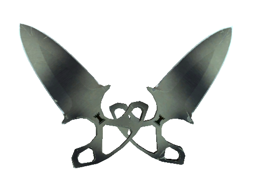 ★ Shadow Daggers | Scorched (Well-Worn)