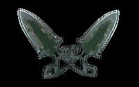★ Shadow Daggers | Forest DDPAT (Battle-Scarred)