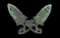★ Shadow Daggers | Boreal Forest (Minimal Wear)