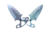 ★ Shadow Daggers | Blue Steel (Factory New)