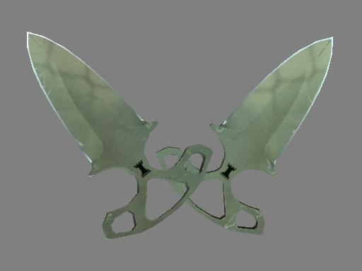 ★ StatTrak™ Shadow Daggers | Safari Mesh (Field-Tested)
