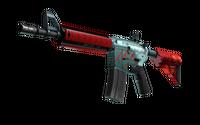 StatTrak™ M4A4   Bullet Rain (Minimal Wear)