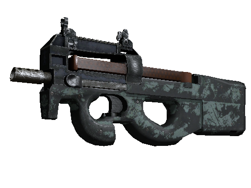 Souvenir P90 | Storm (Battle-Scarred)