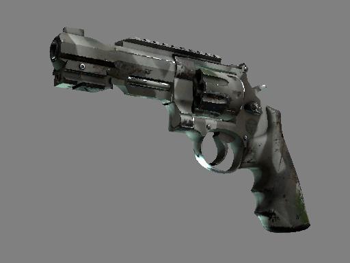 R8 Revolver | Bone Mask (Well-Worn)