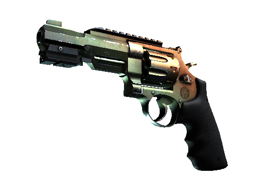 R8 Revolver | Amber Fade (Well-Worn)