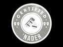 Sticker   The Nader