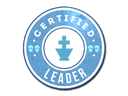 Sticker | The Leader