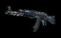 AK-47 | Blue Laminate (Well-Worn)