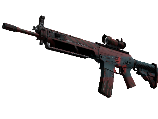 Souvenir SG 553 | Fallout Warning (Field-Tested)