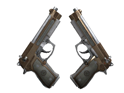 Dual Berettas   Cartel (Battle-Scarred)