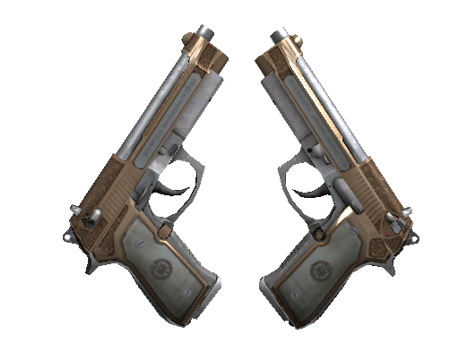 StatTrak™ Dual Berettas | Cartel (Field-Tested)