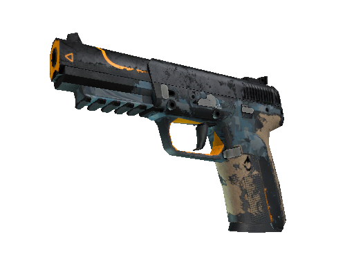 Five-SeveN | Triumvirate (Battle-Scarred)