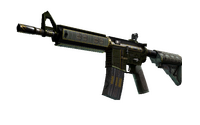StatTrak™ M4A4 | The Battlestar (Well-Worn)