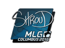 Sticker | shroud | MLG Columbus 2016