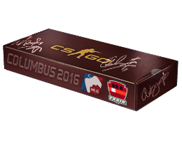MLG Columbus 2016 Train Souvenir Package
