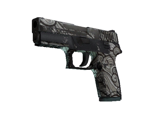 Souvenir P250 | Gunsmoke (Battle-Scarred)