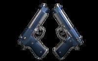 Souvenir Dual Berettas | Anodized Navy (Factory New)