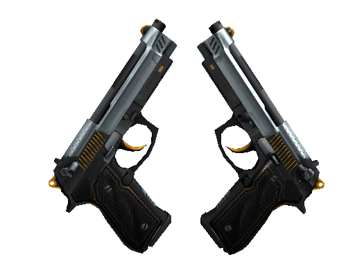 Dual Berettas | Ventilators (Factory New)