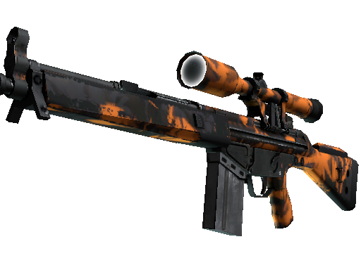 G3SG1 | Orange Crash (Field-Tested)