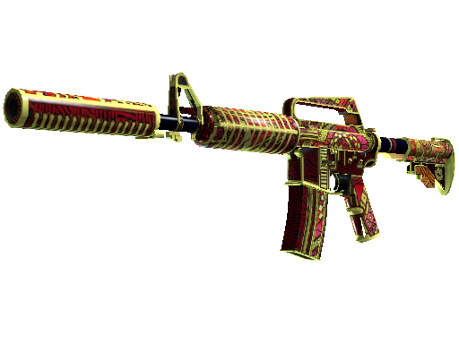 M4A1-S | Chanticos Fire (Well-Worn)