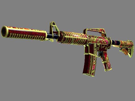M4A1-S   Chanticos Fire (Well-Worn)
