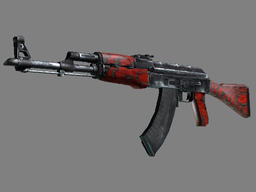 AK-47   Red Laminate (Minimal Wear)