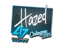 Sticker | hazed | Cologne 2015