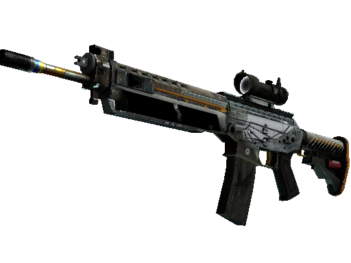 SG 553 | Aerial (Field-Tested)