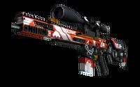 StatTrak™ SCAR-20 | Bloodsport (Factory New)