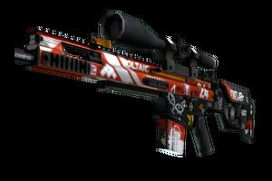 SCAR-20 | Bloodsport (Well-Worn)