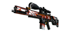 StatTrak™ SCAR-20 | Bloodsport (Well-Worn)