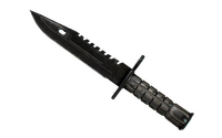 ★ M9 Bayonet | Black Laminate (Battle-Scarred)